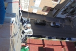 Reparación de grietas y retirada de escombro en hotel de Benidorm.
