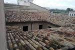 Trabajos en Palacio Casa Sus (Alzira) Motaje de red anti-aves , linea de vida para personal de Solvertvalencia y reparacion de tejas.