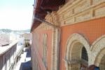 Instalacion de red anti-aves en fachada de casa de la cultura en Alzira.