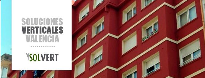 Pintar fachada exterior en Valencia