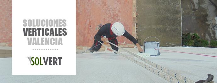 Reparación y pintura de fachadas medianeras en Valencia