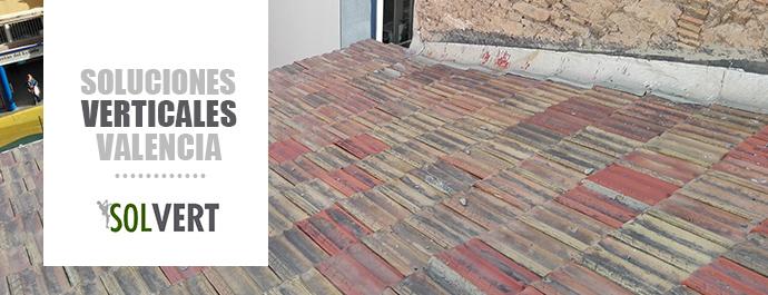 Reparar tejados y barandillas en Valencia