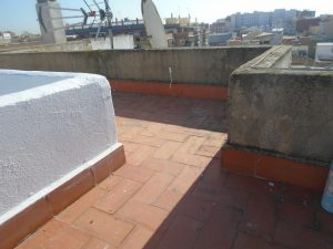 detalle muretes terraza