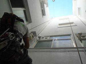 pintar fachada exterior deslunado